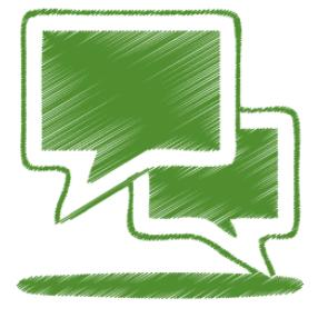 Green_talk_Icon_by_Double-J_Design