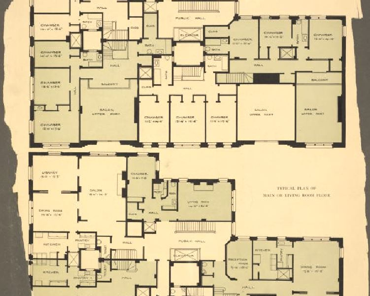 NYPL_plan_architecture_New_York